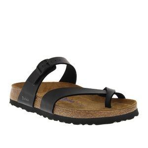 Betula by Birkenstock black 'Mia' sandals NWOT